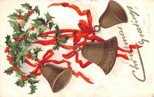 hol053325 - Christmas Postcard Old Vintage Antique Post Card