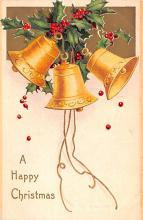 hol053327 - Christmas Postcard Old Vintage Antique Post Card