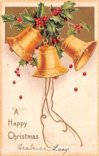 hol053329 - Christmas Postcard Old Vintage Antique Post Card