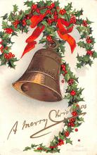 hol053331 - Christmas Postcard Old Vintage Antique Post Card