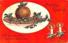 hol053335 - Christmas Postcard Old Vintage Antique Post Card