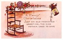 hol054101 - Christmas Postcard Old Vintage Antique Post Card