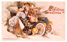 hol054109 - Christmas Postcard Old Vintage Antique Post Card