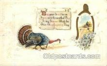 hol060009 - Thanksgiving Postcard Postcards