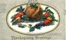 hol060013 - Thanksgiving Postcard Postcards