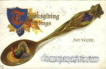 hol060014 - Thanksgiving Postcard Postcards