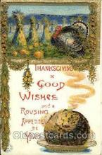 hol060020 - Thanksgiving Postcard Postcards