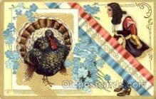 hol060031 - Thanksgiving Postcard Postcards