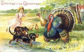 hol060032 - Thanksgiving Postcard Postcards