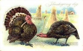 hol060033 - Thanksgiving Postcard Postcards