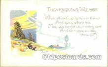 hol060035 - Thanksgiving Postcard Postcards