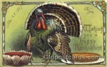 hol060036 - Thanksgiving Postcard Postcards