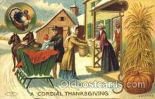 hol060057 - Thanksgiving Postcard Postcards