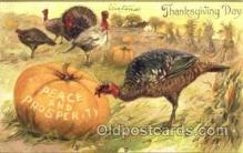 hol060059 - Thanksgiving Postcard Postcards