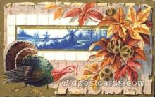 hol060063 - Thanksgiving Postcard Postcards