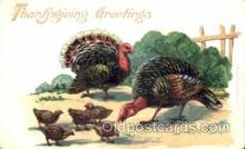 hol060065 - Thanksgiving Postcard Postcards