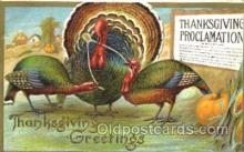 hol060067 - Thanksgiving Postcard Postcards