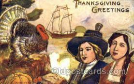 hol060070 - Thanksgiving Postcard Postcards