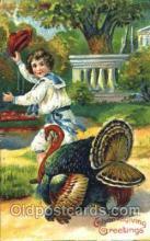 hol060078 - Thanksgiving Postcard Postcards