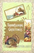 hol060081 - Thanksgiving Postcard Postcards