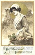 hol060084 - Samuel Schmucker Thanksgiving Postcard Postcards