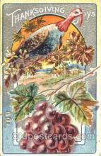 hol060091 - Thanksgiving Postcard Postcards