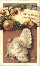 hol060094 - Thanksgiving Postcard Postcards