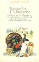hol060095 - Thanksgiving Postcard Postcards