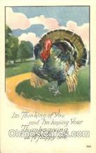 hol060097 - Thanksgiving Postcard Postcards