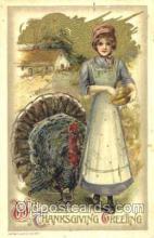 hol060102 - Samuel Schmucker Thanksgiving Postcard Postcards