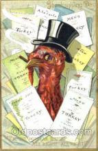 hol060107 - Thanksgiving Postcard Postcards