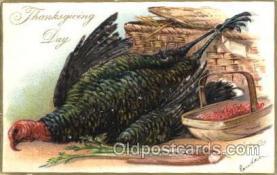 hol060112 - Artist Rj Wealthy Thanksgiving Postcard Postcards