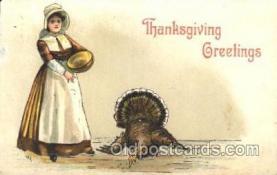 hol060113 - Artist H.B. Griggs Thanksgiving Postcard Postcards
