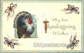hol060117 - Thanksgiving Postcard Postcards