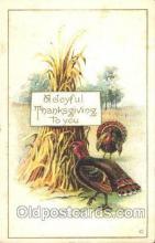 hol060126 - Thanksgiving Postcard Postcards
