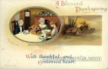 hol060128 - Artist Ellen Clapsaddle, Thanksgiving Postcard Post Cards