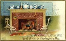 hol060137 - Artist Ellen Clapsaddle, Thanksgiving Postcard Post Cards