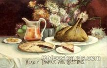 hol060139 - Artist Ellen Clapsaddle, Thanksgiving Postcard Post Cards