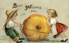 hol060141 - Artist Ellen Clapsaddle, Thanksgiving Postcard Post Cards
