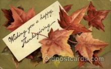 hol060153 - Artist Ellen Clapsaddle, Thanksgiving Postcard Post Cards