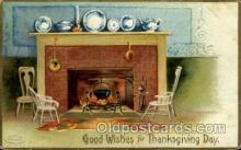 hol060154 - Artist Ellen Clapsaddle, Thanksgiving Postcard Post Cards