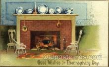 hol060160 - Artist Ellen Clapsaddle, Thanksgiving Postcard Post Cards