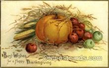 hol060165 - Artist Ellen Clapsaddle, Thanksgiving Postcard Post Cards