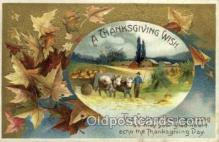 hol060166 - Artist Ellen Clapsaddle, Thanksgiving Postcard Post Cards