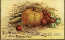 hol060168 - Artist Ellen Clapsaddle, Thanksgiving Postcard Post Cards