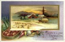hol060172 - Artist Ellen Clapsaddle, Thanksgiving Postcard Post Cards