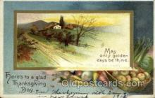 hol060180 - Artist Ellen Clapsaddle, Thanksgiving Postcard Post Cards