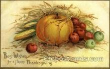 hol060182 - Artist Ellen Clapsaddle, Thanksgiving Postcard Post Cards