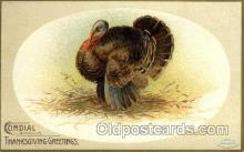 hol060185 - Artist Ellen Clapsaddle, Thanksgiving Postcard Post Cards