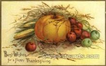 hol060195 - Artist Ellen Clapsaddle, Thanksgiving Postcard Post Cards